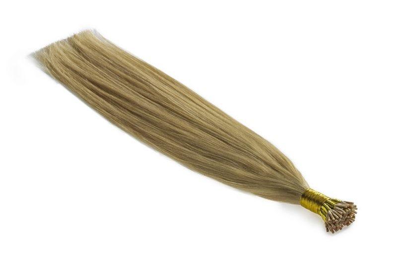 Langt smukt hår med hair extensions